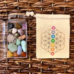 MINI CRYSTAL GRID Box Set 17 Pcs